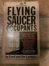 """Flying Saucer Occupants"" 1967 book Baton Rouge, 70809"