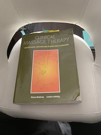 Clinical massage therapy textbook  Calgary, T2X 0X5