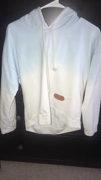 white zip-up hoodie Southington, 06489
