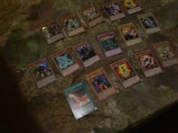 assorted yugioh trading card collection null