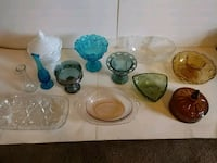 12 Pieces of Vintage Depression and Carnival Glass Broussard, 70518