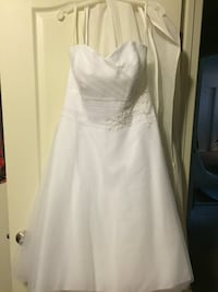 women's white sweetheart-neck tulle wedding dress Stafford, 22554