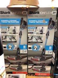 NEW shark ion flex Duo 2 cordless vacuums! includes 2 batteries! Rockwell, 28138
