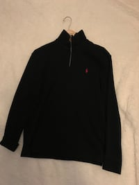 black Ralph Lauren zip-up jacket Kitchener, N2C 2B2
