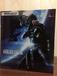 Captain Harlock Play Arts Figure Vancouver
