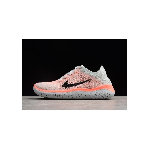 los angeles aa56e dc874 [any size] Nike Free Run Flyknit 2018 Crimson Pulse/Pure Platinum-Black  Women's Running Shoes