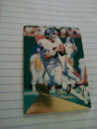 NFL LEGEND JOHN ELWAY CARD Washington