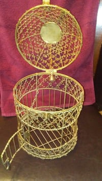 white and red wicker basket Nolanville