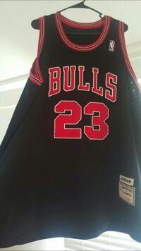 black and red Chicago Bulls 23 jersey Buena Park, 90620