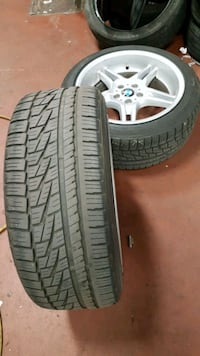 Selling 2 falcon tires Toronto, M1L 4N4