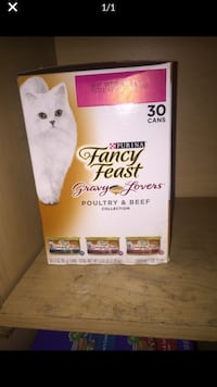 Fancy feast 30 cans Washington, 20020