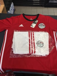 WorldCup 2018 Egypt jersey+shorts Laval, H7G