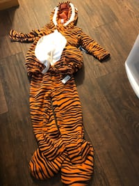 Cute Tiger Halloween Costume Kids 4-5T NWT  Murray, 84123