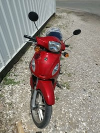 50cc 2013 Tomos Twister only needs back tire.