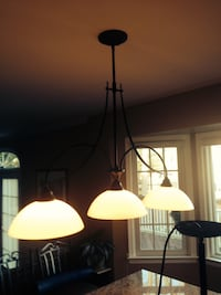 Oil rubbed bronze Lighting fixture. Middletown, 07748
