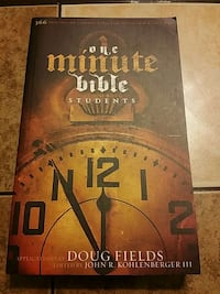 One minute Bible book.