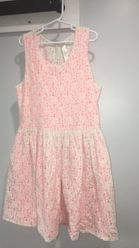 Pink and White Spring Dress Size 14/16  Harborcreek, 16421