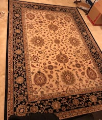 Authentic Belgian Rug size 5x8 . Cash app or cash only. Serious buyers only. No tears or rips. Cleaned. Must pick up. Price nonnegotiable. Only message me when ready to buy. Pasadena, 21122