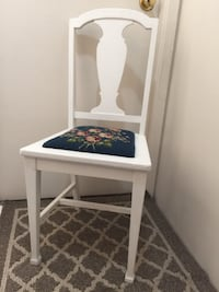 Vintage Needlepoint Chair Vancouver