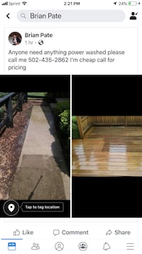 Exterior House cleaning Louisville