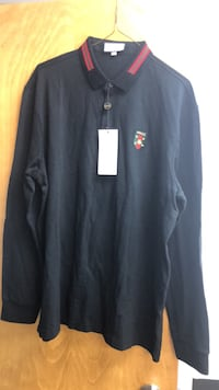 Polo: long sleeve Gucci polo 3XL european size Gaithersburg, 20879