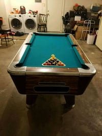 6 1/2 ft pool table Fort Sill, 73503