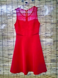 women's hot pink sleeveless dress Savannah, 31405