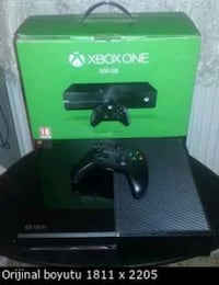 Xbox one 500gb lik fat kasa +1kol