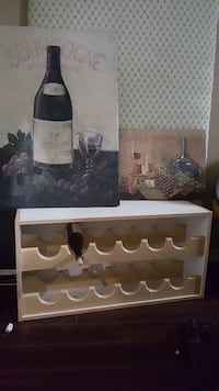 wine rack and two wine poster Plano, 75024