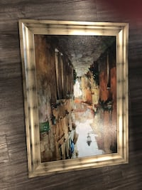 brown wooden framed painting of people Austin, 78745