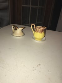 two white ceramic tea pots Silver Spring, 20853