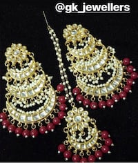 Earrings and tikka available (ask for price) Brampton, L6S 3J7