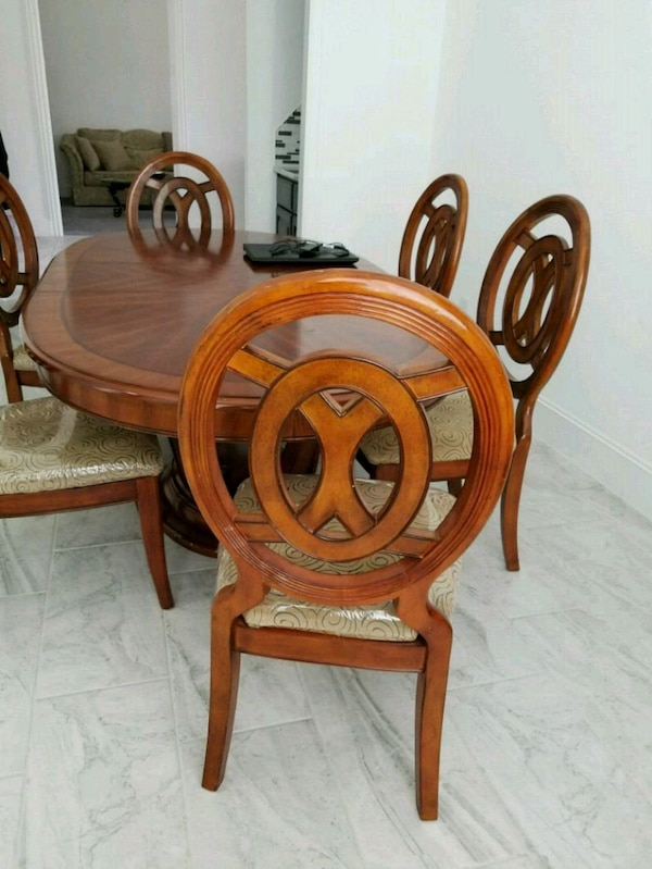 Dining Table and China
