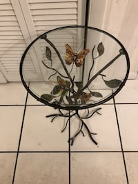 Glass butterfly table Brandon, 33510