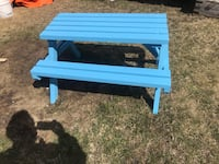 Tiny tots pic nic table hand crafted Edmonton, T6L 4P9