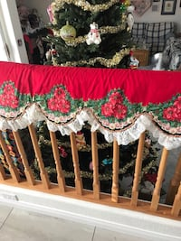 2 reversible bannister covers