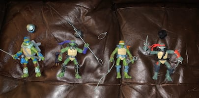 Space Ninja Turtles Set