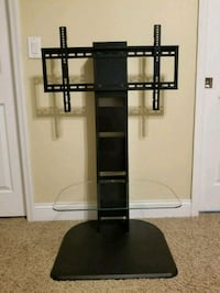 Black glass TV stand with mount Orlando, 32828