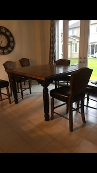 Ashley's pub height Table and 4 chairs  Richmond Hill, L4E 4N7