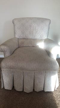 Plush armchair for sale!