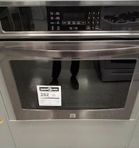 """Kenmore 30"""" Electric Self-Clean Single Wall Oven"""