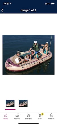 Solstice voyager 6 person inflatable raft Milton, 25541