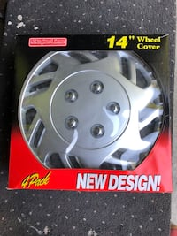 "14"" wheel cover set ( 4 pc) Richmond Hill"