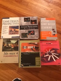 Game design books plus -dreamweaver,etc  Baton Rouge, 70806