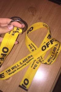BRAND NEW OFF WHITE BELT