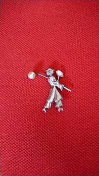 Antique Sterling Silver Broach Fort Erie, L0S 1B0