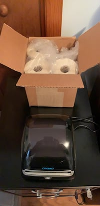 4 XL Dymo Label Printer with 3 rolls of labels. Only used one time. Bought new for $236 Waynesboro, 22980