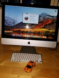 iMac with Wireless Mouse & keyboard
