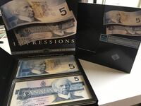 Rare Bank of Canada Pair of $10 '1986 and '2002 Notes Same Serial #  Calgary, T2R 0S8