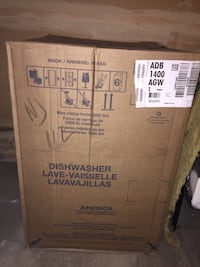 Brand New Amana Dishwasher Front Control Built In Tub. Triple Filter System  East Hartford, 06108